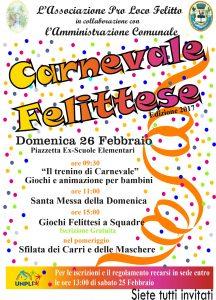 Carnevale Felittese 2017