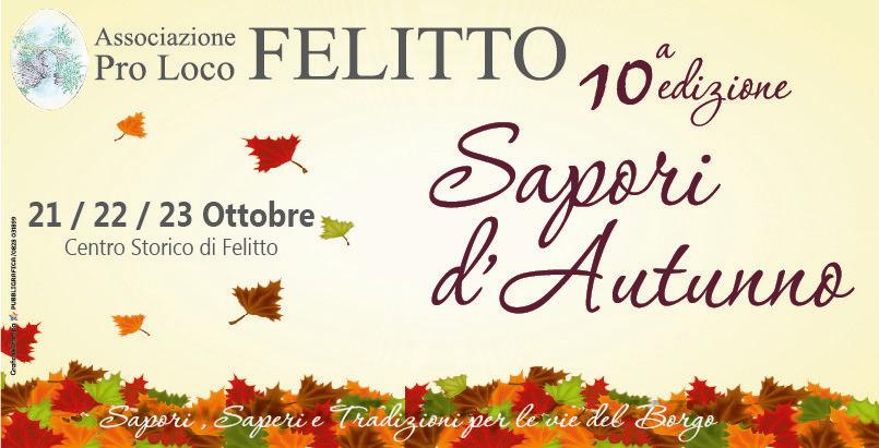 Sapori d'autunno Felitto 2016