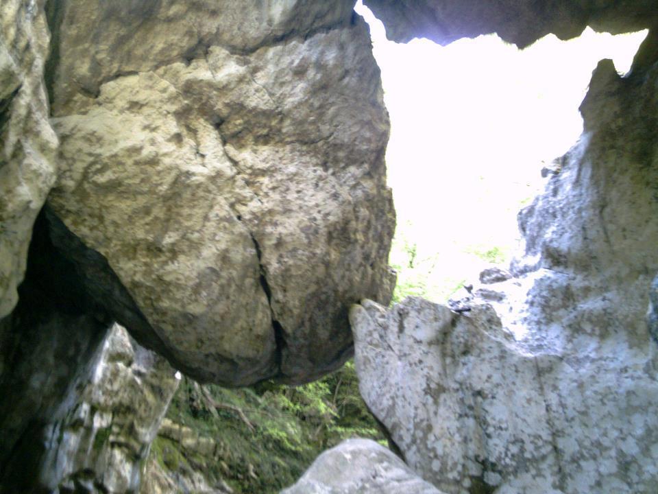 vista sotto ponte re preta tetta